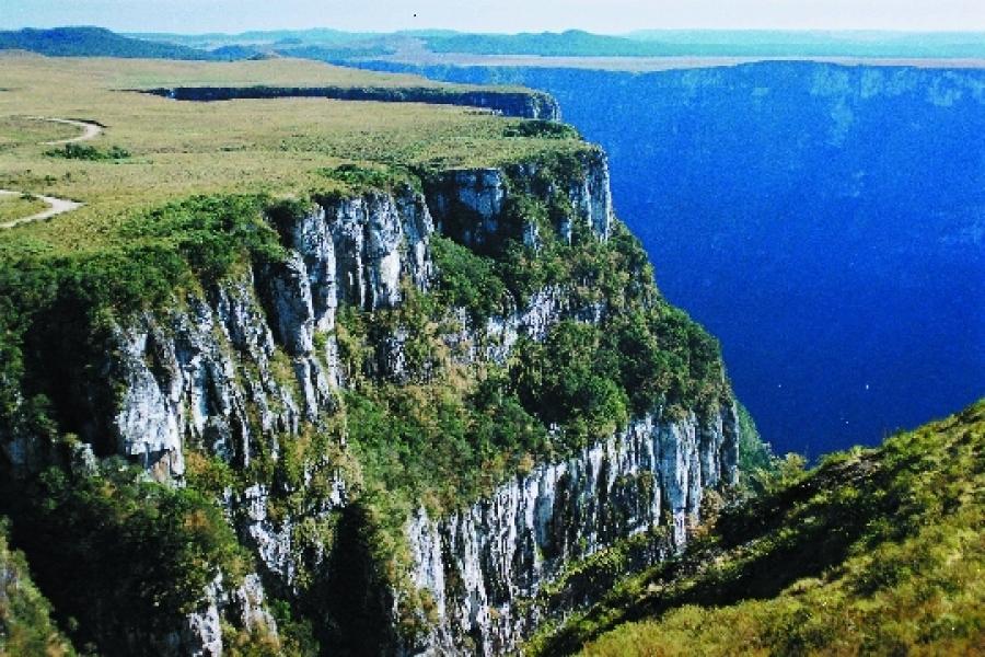 Caminho dos Cânions do Sul - Atrativos Turísticos em São Joaquim Santa Catarina. Divulgação Portal Falando de Turismo