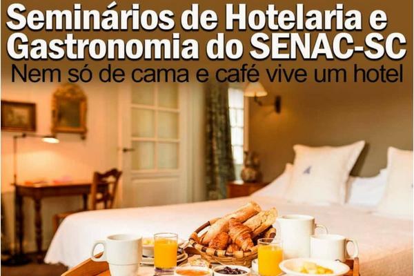 Encatho & Exprotel: Senac prepara ampla programação divulgação Falando de Turismo