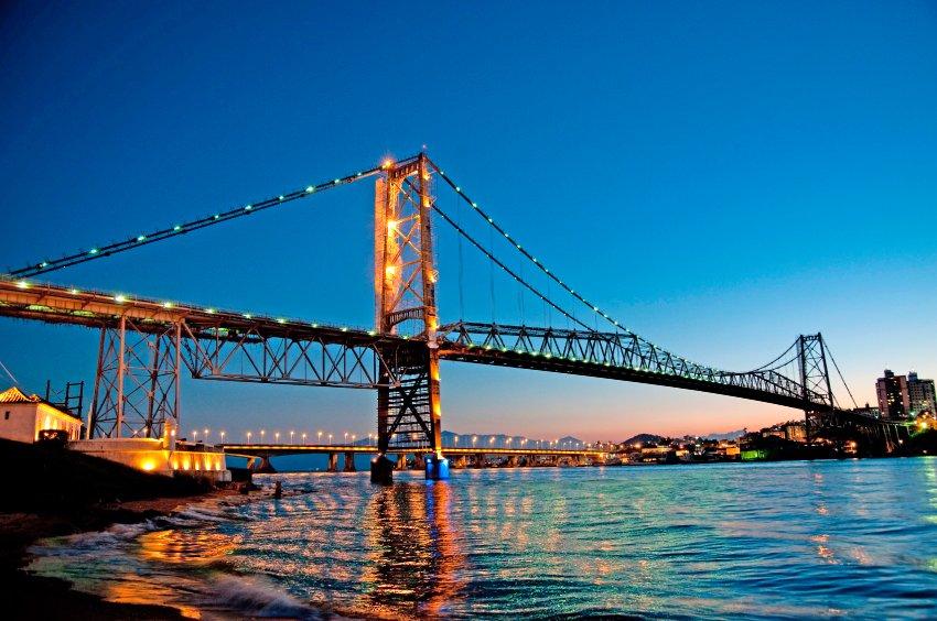 Ponte Hercílio Luz -Falando de Turismo