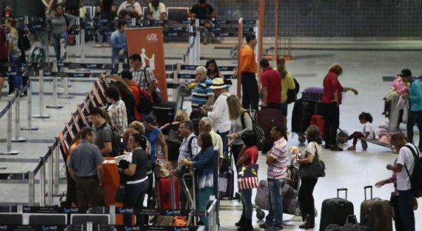Câmera nos aeroportos - Falando de turismo