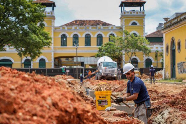 Revitalização do Largo da Alfândega-Floripa- Divulgação Folha de Santa Catarina