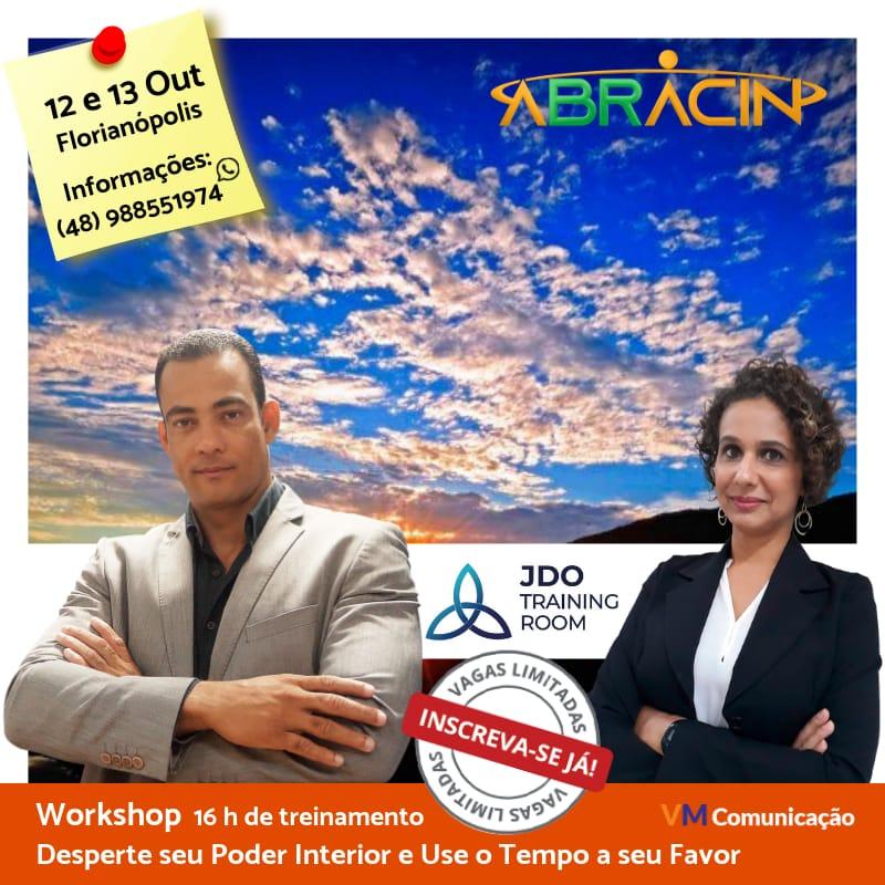 Presidente da ABRACIN Bahia realiza Workshop em Florianópolis
