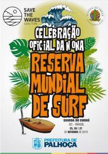 Celebração pela Reserva Mundial de Surf movimenta a Guarda do Embaú