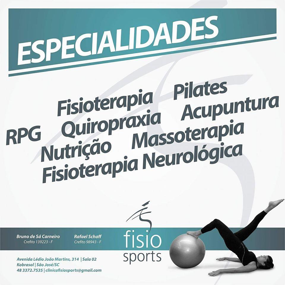 Fisio Sports - Fisioterapia e Pilates - Comece o ano novo em forma - Cumpra as promessas que você fez para esse ano novo. Clique no baner e confira.