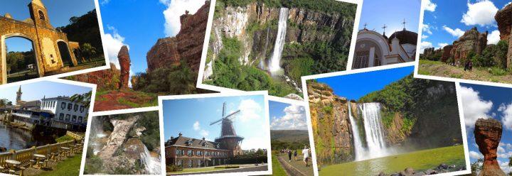 Brasil é destaque no mercado de turismo doméstico e internacional.