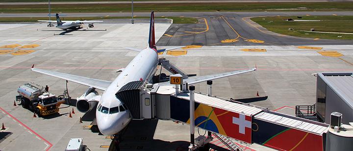 Floripa Airport mantém malha aérea essencial em maio