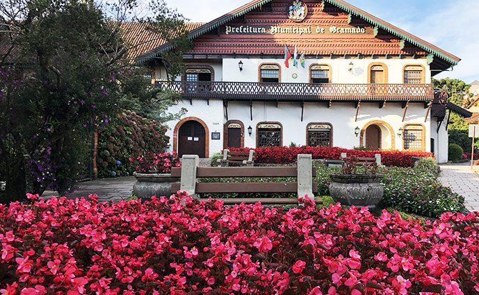 Gramado capital das flores e jardins da Serra Gaúcha