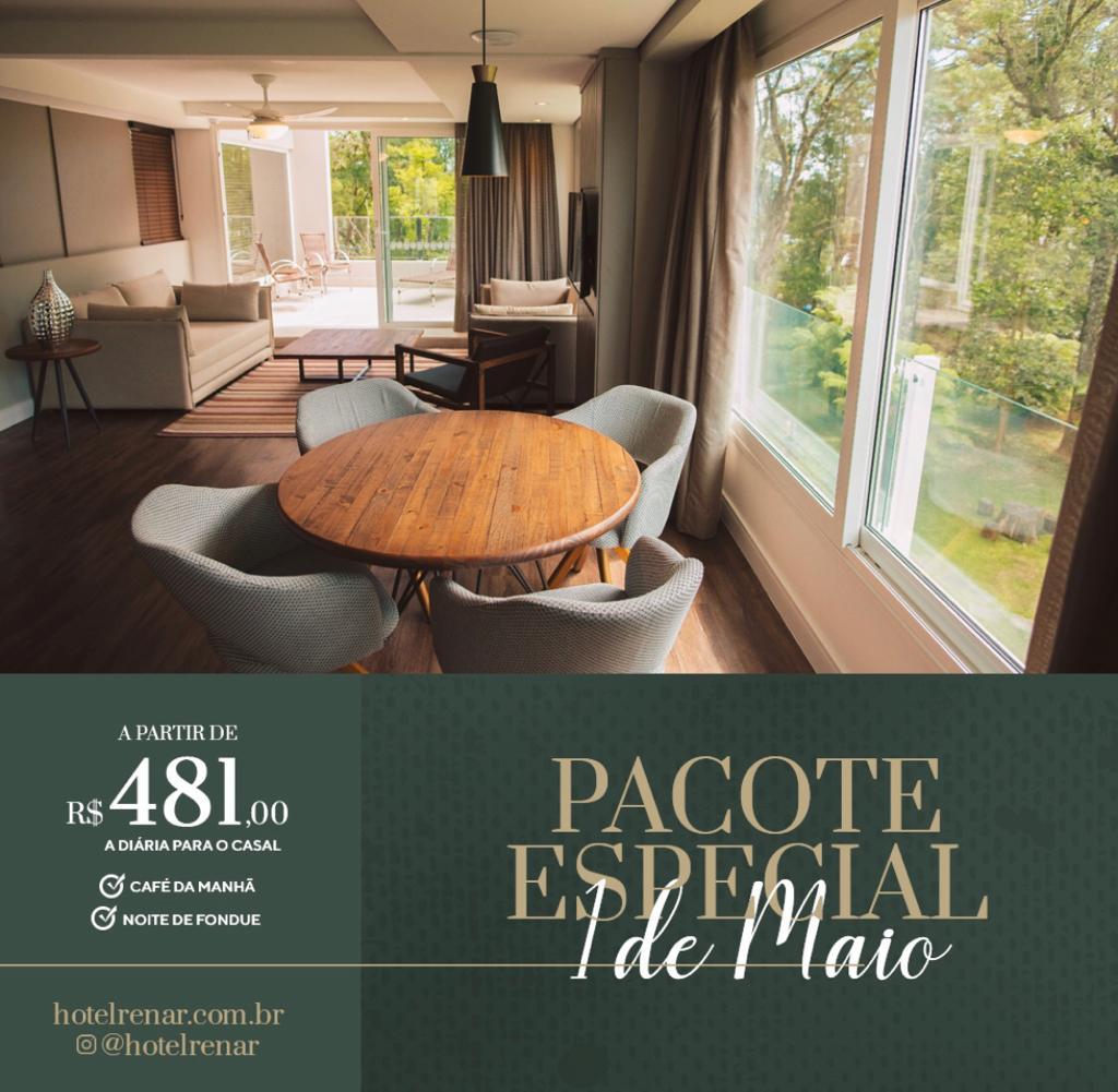 Dica para o Feriadão - O majestoso Hotel Renar em Fraiburgo - Terra da Maçã