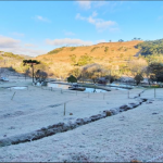 O estado catarinense já tem 28 dias com temperaturas abaixo de zero