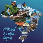 Mapa do Brasil Turismo - Foto: Divulgação