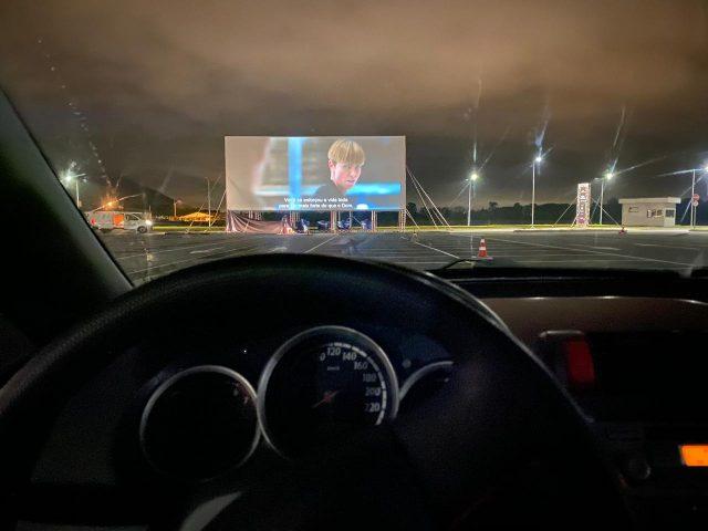 Cine Drive-in no Floripa Airport com espaço para 110 veículos