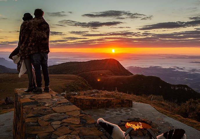 Fazer turismo em Santa Catarina neste inverno é um espetáculo