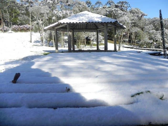 Frente polar pode trazer muita neve para Santa Catarina