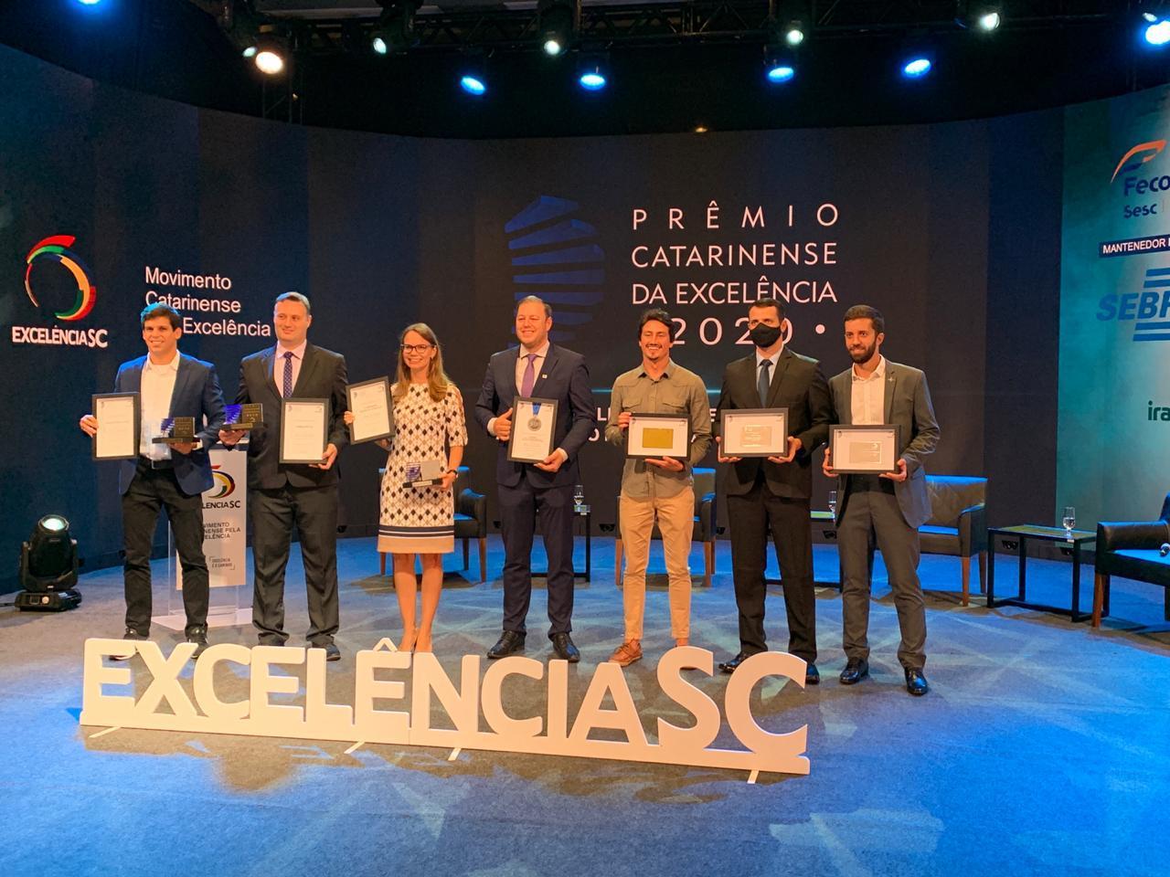 Khronos recebe prêmio catarinense de excelência
