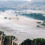Frio chega com muita força na Serra Catarinense mudando as paisagens