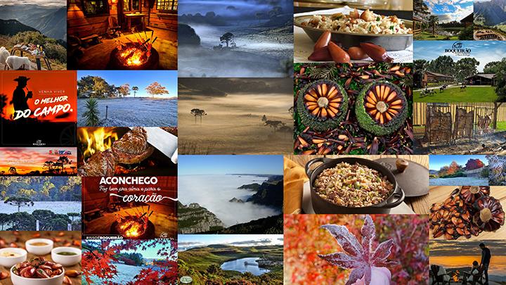 Pinhão, frio e comida campeira, maravilhas do turismo na Serra Catarinense