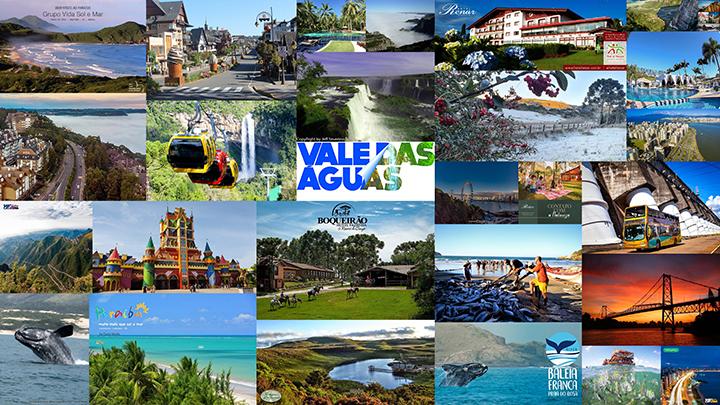 Sul do Brasil e Nordeste lideram como principais destinos de férias